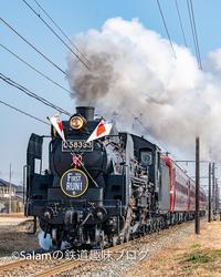 秩父鉄道SLパレオエクスプレス2021ファーストラン - Salamの鉄道趣味ブログ