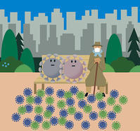 coronavirus 2 - Yenpitsu Nemoto  portfolio    ネモト円筆作品集