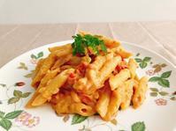 【雑穀料理】乳製品不使用なのにコクのある味わい!ヘルシークリームパスタの作り方・レシピ【米粉】 - Tempota Cuisine