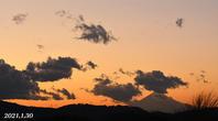 1月30日 ⑤『自宅から90km先の富士 2021』 - 写愛館