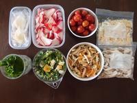 週末の常備菜づくり(200214) - ふたりで暮らす