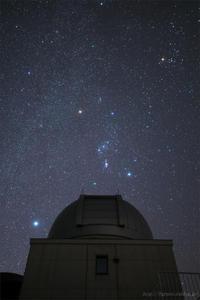 天文ドームとオリオン - 遥かなる月光の旅