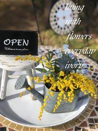 おはようございます! -  Flower and cafe 花空間 ivory (アイボリー)