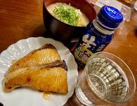 ブリの照り焼きで日本酒♪ - よく飲むオバチャン☆本日のメニュー