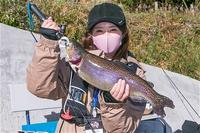J:COM釣りたいっ!2021年2月号Youtube版・「南足柄市の管理釣り場でトラウトフィッシング!」 - Shisen