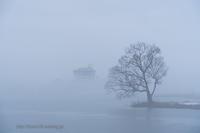 霧の湖沼 - デジタルで見ていた風景
