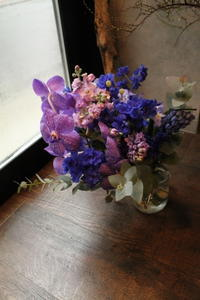 結婚記念日に花束 - 北赤羽花屋ソレイユの日々の花