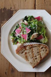 茹で野菜のサラダ - Nasukon Pantry