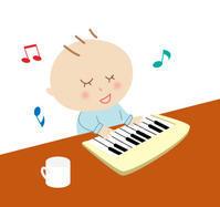 イラスト~小さなピアニスト~ - 日々是イラスト