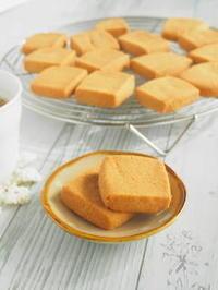 きなこのほろほろクッキー - 小麦の時間   京都の自宅にてパン教室を主宰(JHBS認定教室)