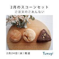 2/24発送 2月のスコーンセット - Tumugi