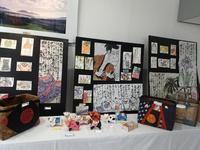 絵手紙の展示 - 日々是絵手紙