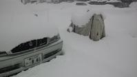また大雪でスノーラ君出動 - オイラの日記 / 富山の掃除屋さんブログ