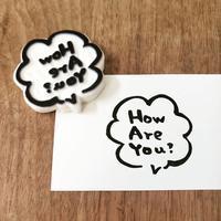 How Are You?はんこ♪ - kedi*kedi