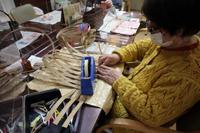 エコクラフト~ 被せ布付きの籠バッグ ~ - 鎌倉のデイサービス「やと」のブログ