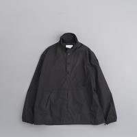STILL BY HAND Micro Ripstop Nylon Anorak (Black) - un.regard.moderne