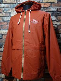 kustomstyle ジップアップ フードジャケットthe way we are hooded zipup jacket カラー:オレンジ・ブラック 18,700円(内税) 入荷 - ZAP[ストリートファッションのセレクトショップ]のBlog