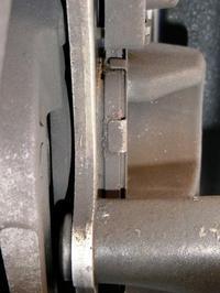 NC700SのFブレーキ、ブレーキパッドを交換「デイトナ ゴールデンパッドX(カイ)」 - 某の雑記帳