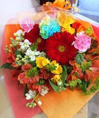 花束 - 大阪府茨木市の花屋フラワーショップ花ごころ のブロブ