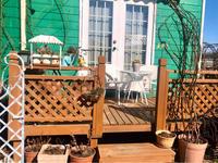 ポカポカ陽気に誘われてペンキ塗り色々♡ - 薪割りマコのバラの庭