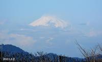 2月2日・3日『自宅から90km先の富士 2021』 - 写愛館