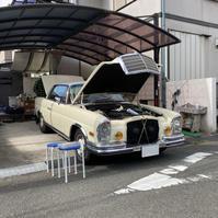 1970年式 メルセデス ベンツ 280SEクーペ改、電気系リフレッシュ&アーシング施工 - 「ワッキーの自動車実験教室」 ワッキー@日記でごじゃる
