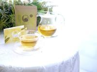 ほわっとびわ「白びわ茶」@自然療法サロンミモザ - お茶をどうぞ♪