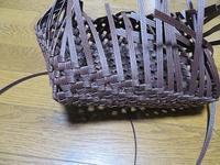 石畳編みのふた付き箱、昨日からの続き - あれこれ手仕事日記 new!
