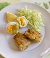 チキンフリット、卵たち - めでこのゴハンノオト