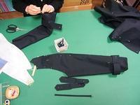 今日の教室(トレンチコート) - ドレスレイのブログ 洋裁教室 帽子教室 東京都 荒川区