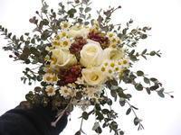定期的にお届けしている花束。2021/02/15。 - 札幌 花屋 meLL flowers