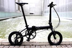 "DAHON K3 / Matte Black(14"" Carbon Wheel仕様)デリバリー決定! - カルマックス タジマ -自転車屋さんの スタッフ ブログ"