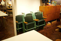 """""""Jean Prouve Theater Chairs 1950's""""ってこんなこと。 - THE THREE ROBBERS ってこんなこと。"""