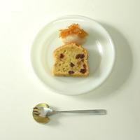 干しいちじくとくるみのたまごケーキ - カタチ