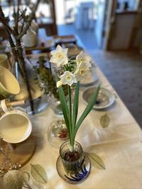 香り漂う水仙の花〜テーブルの上の水仙〜 - CROSSE 便り