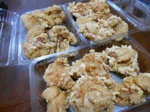 昼はとんかつ屋さんの鶏唐揚げ&ストーブ修理 - 小町の日々の暮らし