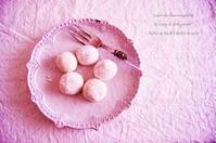 娘の生まれた日と砂糖菓子と。 - *Romantic caramel-香草菓子や粉と卵とおうちおやつ*