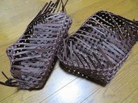 石畳編みのふた付き箱・再び、編み上がりましたが・・・ - あれこれ手仕事日記 new!