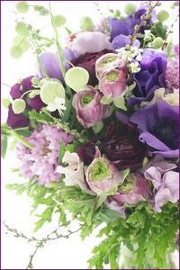 ヴァレンタインの花贈り - フラワースタジオクレール