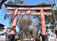GOTO氷川神社 - ふくすけのコネコネ 編み編み てくてく日記