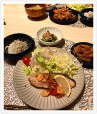 ブリのガーリックソテーで夜ご飯。 - Mikari's Blog