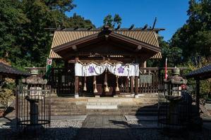 上宮天満宮  本殿と拝殿 - レトロな建物を訪ねて