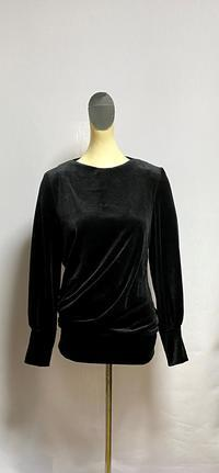 アシンメトリードレープのプルオーバー - 私のドレスメイキング