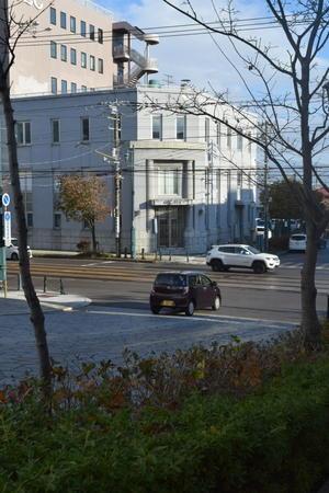 函館市末広町の旧函館貯蓄銀行本店(函館の建築再見2021) -