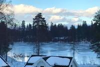 湖の氷とカード - 北欧万華帖