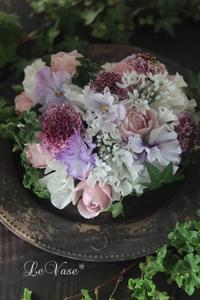 2月Basicクラス『Heart cushion』 - Le vase*  diary 横浜元町の花教室