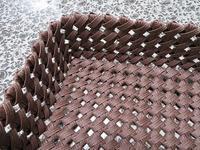 石畳編みのふた付き箱編み代始末終わり&買い物&おいしいもの - あれこれ手仕事日記 new!