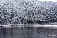 雪景色龍王ヶ渕 - toshi の ならはまほろば