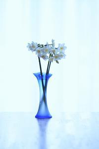 青い花瓶 - 心のままに