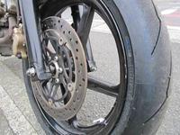H原サン号 VTR250のタイヤ&ステムベアリング交換とFフォークの仕様変更が完成!(*^^)v (Part2) - バイクパーツ買取・販売&バイクバッテリーのフロントロウ!
